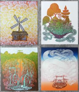 """""""Four Elements"""" by Paul Roden + Valerie Lueth"""